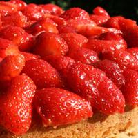 la Salamandre - Baillestavy Frankrijk :Koken in de Catalaanse keuken aardbei