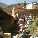 la Salamandre - Baillestavy Frankrijk :De accommodatie|terras van de Gite