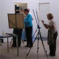 la Salamandre - Baillestavy Frankrijk :Workshop Meditatief  Schilderen|anita geeft les