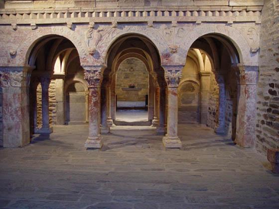 la Salamandre - Baillestavy Frankrijk : Klooster Serrabone