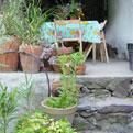 la Salamandre - Baillestavy Frankrijk :De accommodatie|terras