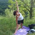 la Salamandre - Baillestavy Frankrijk :Yoga en reinigende groene week|sfeer: yoga houding